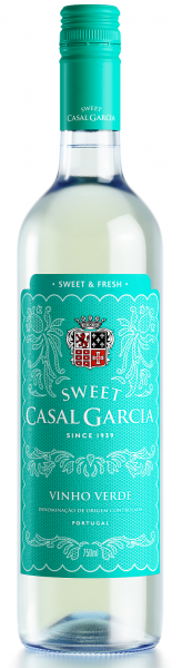 Portugalské víno Casal Garcia Sweet Branco Vinho Verde na eshopu vína z Portugalska
