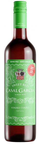 Portugalské víno Casal Garcia Sweet Tinto Vinho Verde na eshopu vína z Portugalska
