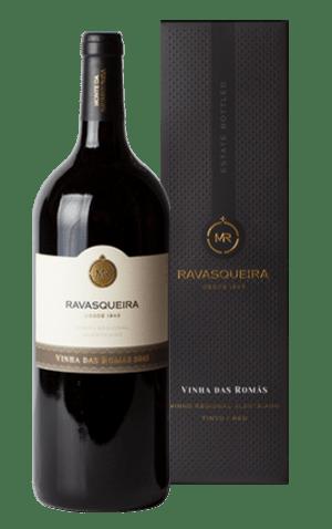 Portugalské červené víno Monte da Ravasqueira Vinha das Romas Magnum na eshopu vína z Portugalska