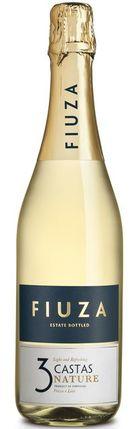Portugalské šumivé víno Fiuza 3 Castas Nature Branco sekt na eshopu vína z Portugalska