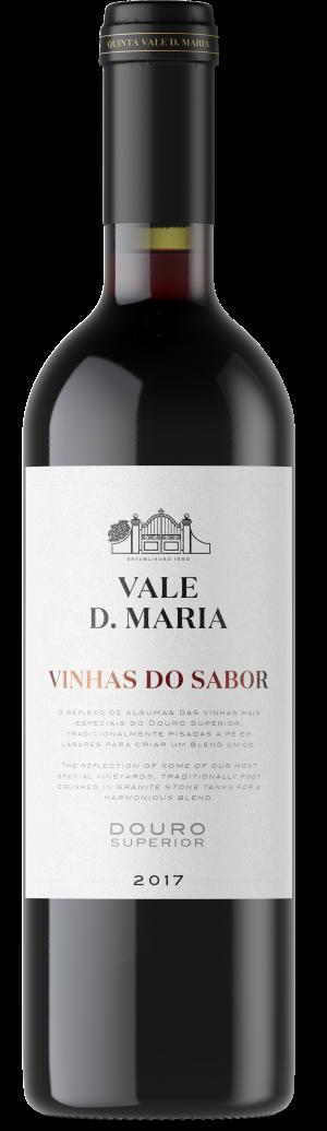 Portugalské červené víno Vale D. Maria Vinhas do Sabor Tinto na eshopu vín z Portugalska