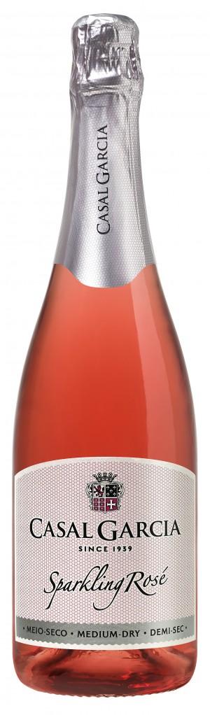 Portugalské šumivé víno sekt Casal Garcia Sparkling rose na eshopu vína z Portugalska