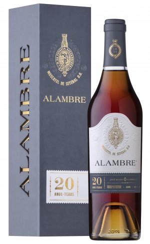 Portugalské fortifikované víno Moscatel Alambre 20 years na eshopu vína z Portugalska