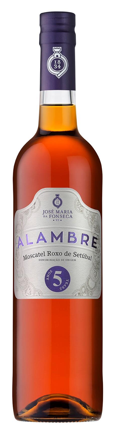 Portugalské fortifikované víno Moscatel Alambre Roxo na eshopu vína z Portugalska