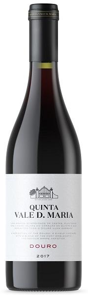 Portugalské červené víno Quinta Vale D. Maria Douro Tinto 2017 na eshopu vín z Portugalska