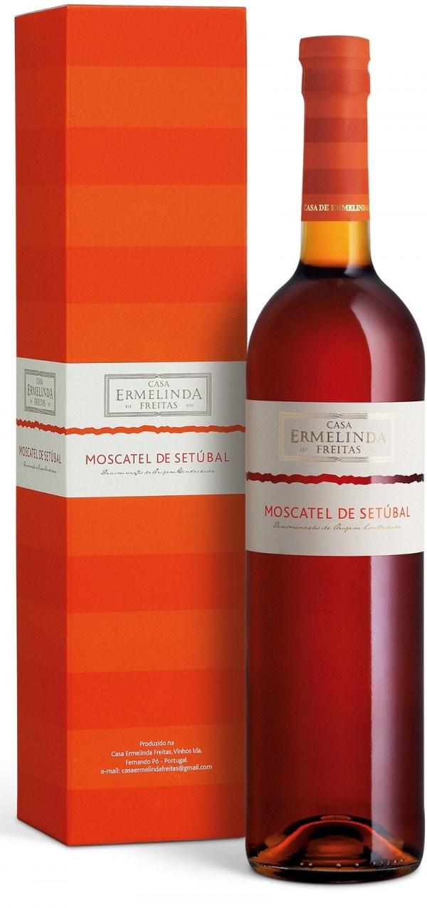 Portugalské víno Moscatel de Setubal Casa Ermelinda dárkové balení na eshopu vína z Portugalska