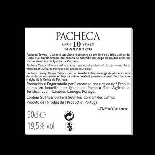 Portské víno Quinta da Pacheca 10 years Tawny Porto na eshopu vín z Portugalska