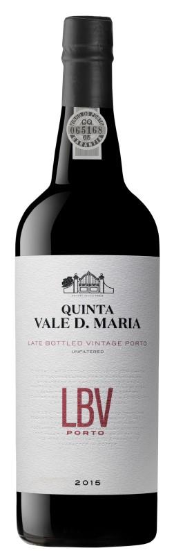 Portské víno Quinta Vale D. Maria LBV Porto 2015 na eshopu vín z Portugalska
