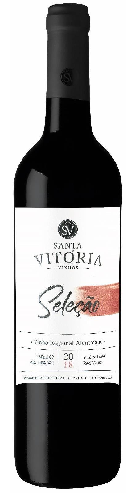 Portugalské červené víno Santa Vitoria Selecao Tinto na eshopu vína z Portugalska