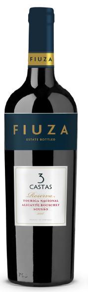 Portugalské červené víno FIUZA 3 Castas Reserva na eshopu vína z Portugalska