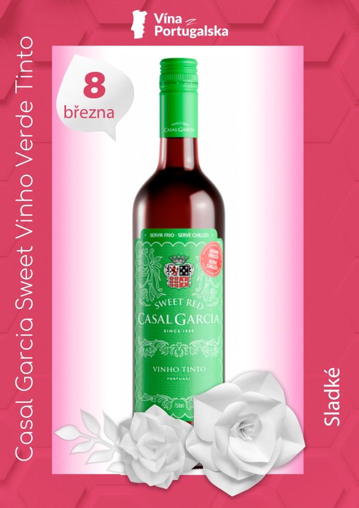 Casal Garcia Sweet Vinho Verde Tinto