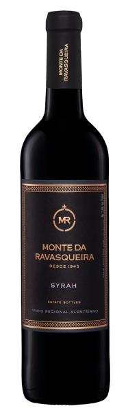 Portugalské červené víno Monte da Ravasqueira Syrah na eshopu vín z Portugalska