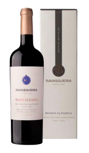 Portugalské červené víno Monte da Ravasqueira Reserva da Familia Tinto na eshopu vín z Portugalska